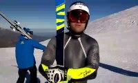 """Ski Alpin - Poisson : """"Encore une bonne journée d'entraînement"""""""