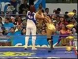 AAA-Sin Limite  2009.07.19  Zapopan  01 Aero Star & Fabi Apache vs. Billy Boy & Sexy Star