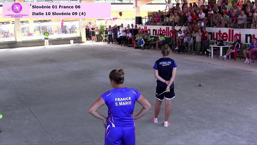 Finales simple et combiné, Euro féminin, Saluzzo 2017