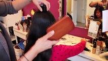 De mariée chignon coiffure moderne updo