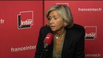 Valérie Pécresse au micro de Nicolas Demorand