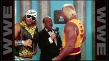 HULK HOGAN AND RANDY THE MACHO MAN SAVAGE JOIN FORCES - WWE WWF Wrestling - Sports MMA Mixed Martial Arts Entertainment