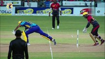 Shadab Khan 2/13 and excellent run-out for Trinbago Knight Riders against Barbados Tridents in CPL 2017