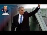 Obama abandona el Capitolio