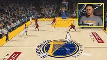 Stephen Curry Plays NBA 2K17 PARODY AGAINST LEBRON JAMES (WHAT IF STEPHEN CURRY PLAYED NBA