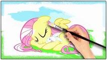 Mon petit poney coloration Livre Équestrie filles relation amicale des jeux flutter