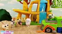 Aveugle des boites bricolage Explorez pour gardien vie de de parc animaux domestiques jouet Surprises secretes de lion cubeez pez