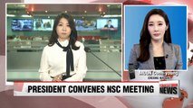 South Korean president convenes emergency meeting of security council after artificial quake detected in N. Korea