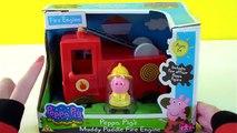 Voiture moteur feu porc jouet un camion Peppa camion jouet camión feu de Bomberos