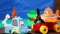 NEW Planes Fire and Rescue TOYS Disney Planes 2 Play-Doh Fire Dusty Crophopper DisneyCarTo