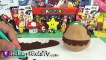 Play-Doh Make Super Mario! Sculpting Super Mario Brother Nintendo HobbyDad HobbyKidsTV Gia