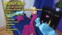 Lit gelé sur ou pour Faire des poupées artisanat films poupée anna elsa