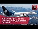 AeroMéxico cobrará la primera pieza de equipaje documentado