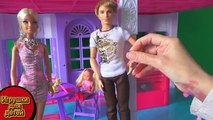 Par par et sur russe série Barbie Ken premier baiser 21 montre aventure Barbie igrush