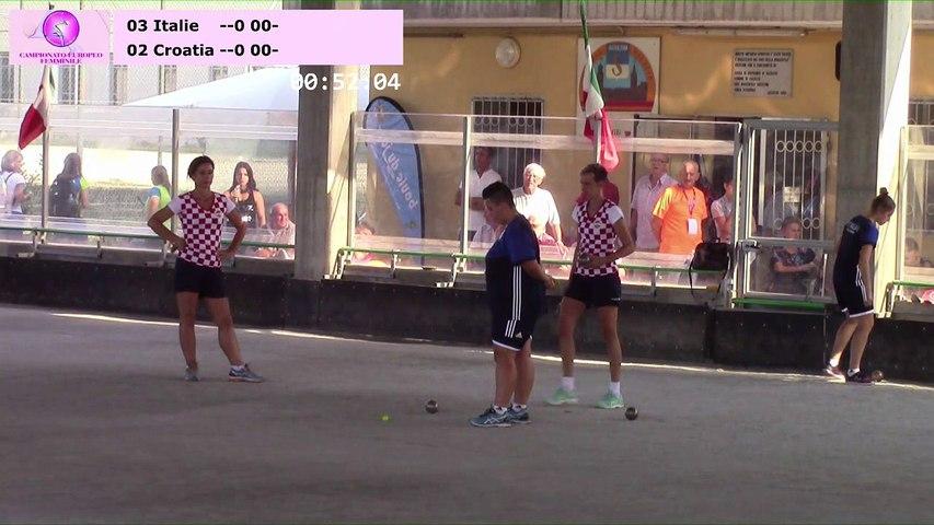 Finale double, Euro Féminin, Saluzzo 2017