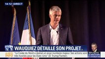 """""""La droite, ça n'est pas fini ! Elle va se relever"""", assure Laurent Wauquiez"""