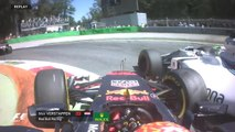 Grand Prix d'Italie - Max Verstappen encore dans un accrochage !