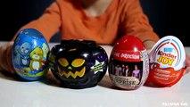 Sammie is Opening 4 Surprise Eggs: 1D, Kinder Joy, ZhuZhu Pets, Moshi Monsters SHOPKINS