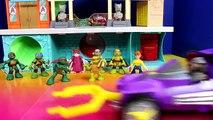 Teenage Mutant Ninja Turtles TMNT Micro Mutants Turtle Village Raph Puts Super Shredder In