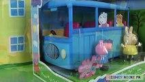 Autobus ce qui manquer porc lapin école peppa autobus scolaire ecole melle lapin jouets de peppa une