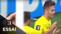 TOP 14 - Essai Damian PENAUD (ASM) - Clermont - Toulon - J2 - Saison 2017/2018
