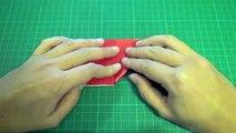 Воздушный шар сердце оригами Оригами Сердце трехмерным 3d