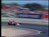 Gran Premio di Francia 1990: Ritiro di Gugelmin e sua intervista
