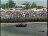 Gran Premio di Gran Bretagna 1990: Sorpasso di Mansell ad A. Senna e testacoda di A. Senna
