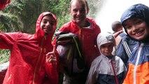 Les Gourm'trotters à la Paillon del Diablo (Banos - Equateur)