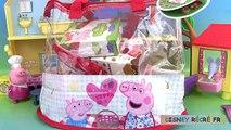 SAC petits gâteaux aliments porc jouer joli doux friandises peppa doh sac goûter gâteaux chocolat pâte