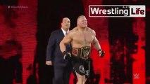 BROCK LESNAR VS ROMAN REIGNS VS SETH ROLLINS - TRIPLE THREAT MATCH - WWE Wrestling - Sports MMA Mixed Martial Arts Entertainment
