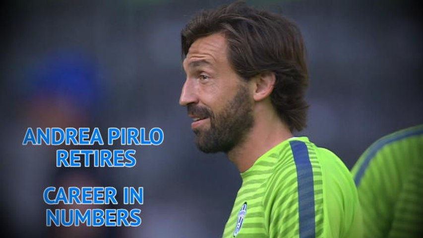 Andrea Pirlo - Career in Numbers