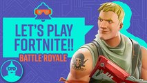 Fortnite Battle Royale - Let's Play (Bazooka's Grenades, Stalking +MORE) | The Leaderboard