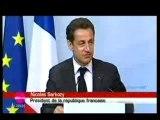 Sarkozy au G8 défencé la honte merde