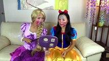 Police Drive Thru Dunkin Donuts w/ Catwoman, Princess Rapunzel, Snow White, Spiderman