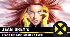 "Marvel Comics' X-Men Jean Grey's ""Least Kickass"" Best Comic Book Moments Ever (Not as Dark Phoenix)"