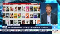 What's up New York: Record pour Netflix qui augmente ses prix - 05/10