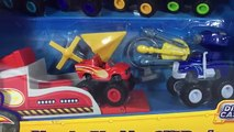 Blaze and the Monster Machines Die-cast Fisher-Price Darington Zeg Stripes Starla || Keiths Toy Box