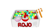 Helados de Colores y Huevos sorpresa 3D - Juegos para niños para Aprender los colores