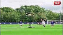 Futbollistet e Chelsea tregojne talentin e tyre ne keto sfida te veshtira me topin (360video)