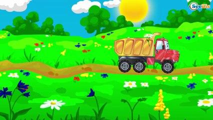 Carritos - Camiónes infantiles -  Vídeos de colores para niños en español - Vehículos Agrícolas