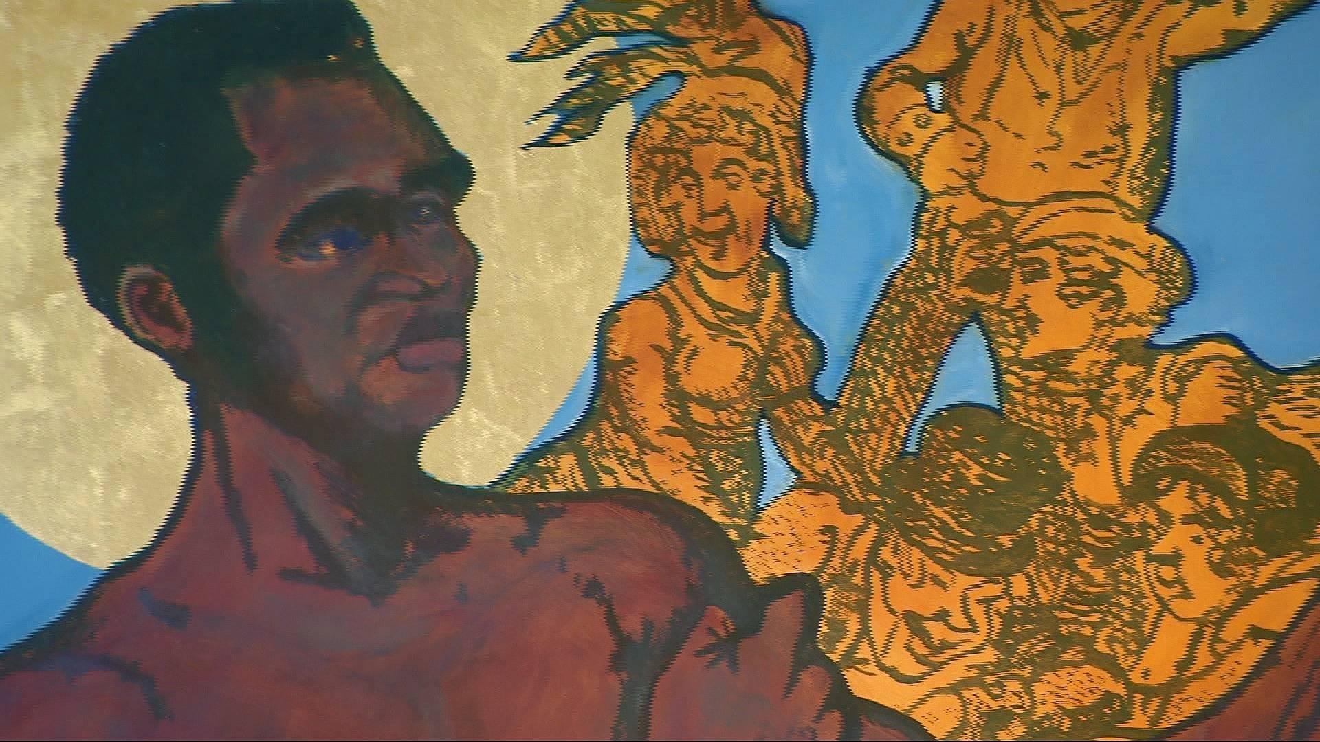 African artists shine in London's African art fair
