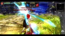 Dragon Nest CN - PVP Showmatch Lv 93 Gladiator vs Lv 93 Moonlord #Awakening Skill