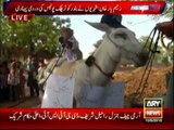 Monkey Donkey Protest in Rahim Yar Khan By ARY NEWS RAHIM YAR KHAN