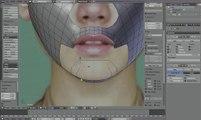 Blender modeling time lapse - Head
