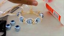 786925628810 como hacer aretes macrame circulares cavandoli - video dailymotion