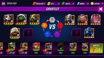 All TMNT Ninja Turtles Vision Quest charer VS Krang & Splinter TMNT Legends gameplay 2017