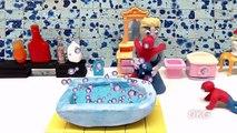 Cool Morning Pink Dress Play Doh Elsa Frozen Stop Motion Fun Kids Animation Cartoon