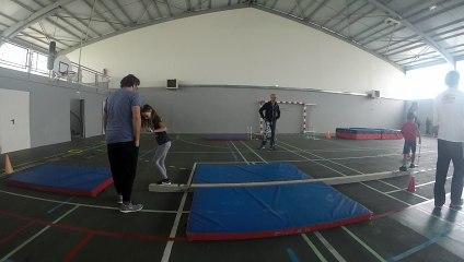 Tests physiques et techniques à Salindre