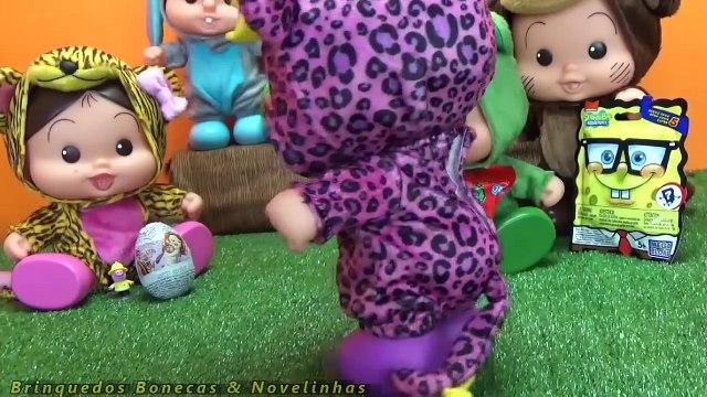 Turma da Mônica Bichinhos Surpresas Scooby Doo Frozen Peppa Pig Turma da Mônica Toy Em Português